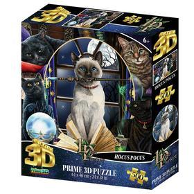 3D Пазл коллаж 500 элементов «Магия кошек», 6+