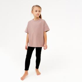 Легинсы для девочки MINAKU: kids цвет чёрный, рост 104