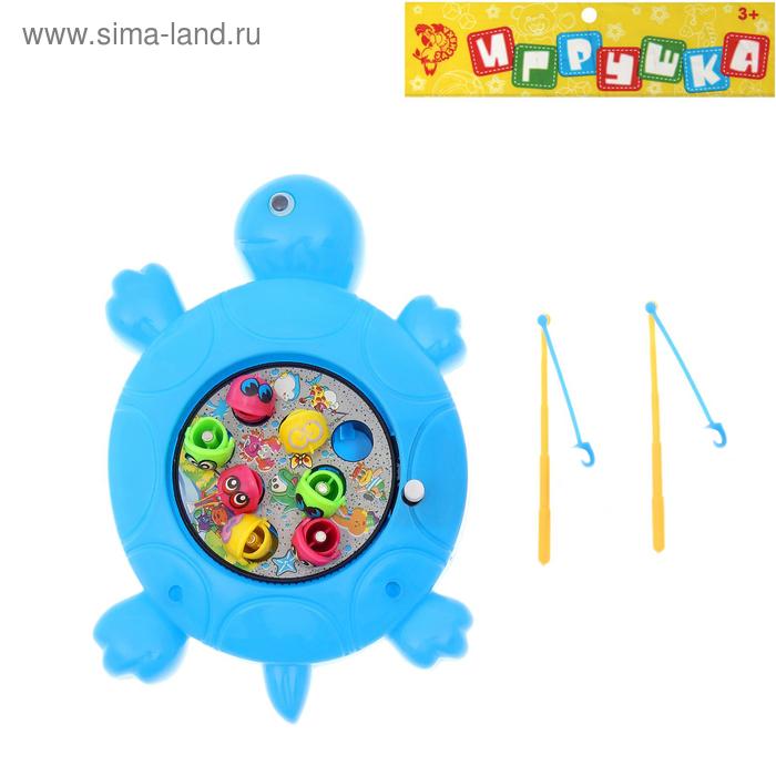 """Рыбалка """"Черепашка"""" заводная, цвета МИКС"""