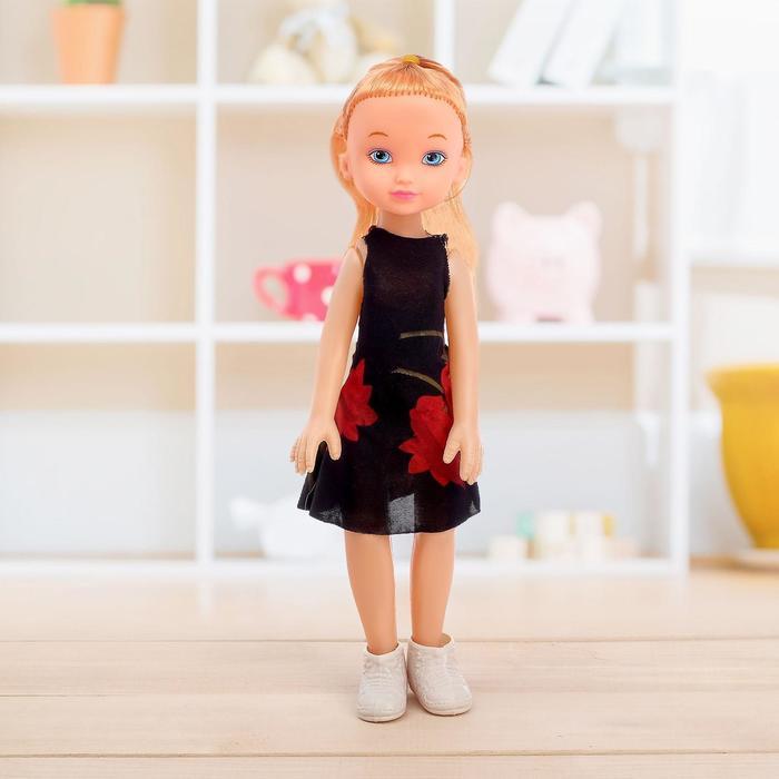 Кукла классическая «Марина» в платье, МИКС