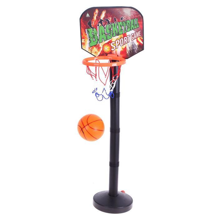 """Баскетбольный набор """"Стритбол"""", с мячом, высота 98 см."""