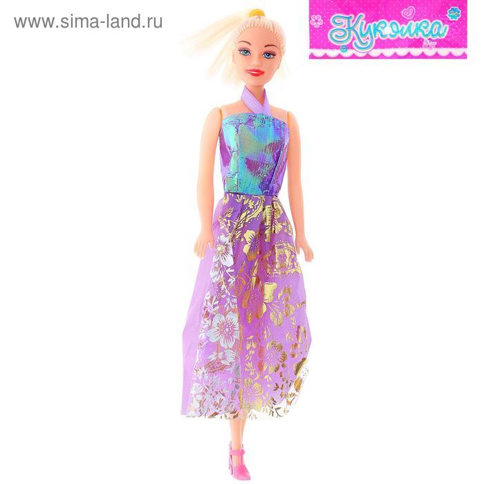 """Кукла """"Белла"""", в длинном платье, МИКС, 25 см"""