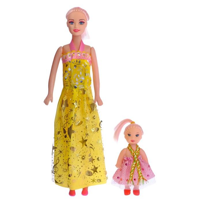 "Кукла модель ""Каролина"" с малышкой, МИКС"