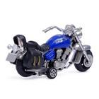 Мотоцикл инерционный «Харлей», цвета МИКС - фото 1020210