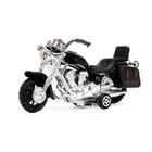 Мотоцикл инерционный «Харлей», цвета МИКС - фото 1020212