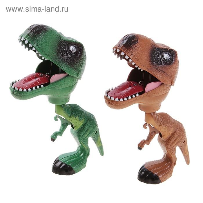 """Игрушка """"Динозавр кусачка"""" цвета МИКС"""