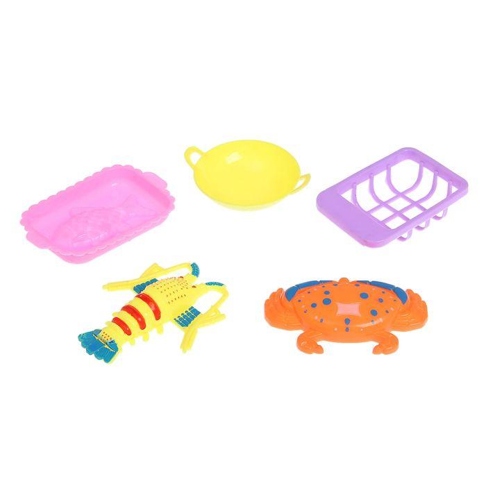 Набор посуды «Морское удовольствие», 5 предметов, МИКС