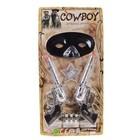 Набор ковбоя «Шериф», 2 пистолета, маска, значок - фото 105576734