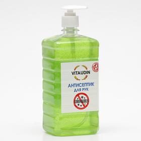 Антисептик для рук VITA UDIN с антибактериальным эффектом, с дозатором, гель, 1 литр