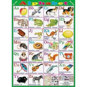 Alphabet / Алфавит. Плакат