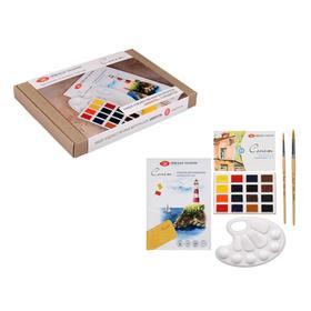 Набор художественный «Сонет», «Акварель», 5 предметов, в картонной коробке