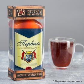 Чай чёрный «Первый», с апельсином и шоколадом, 100 г.