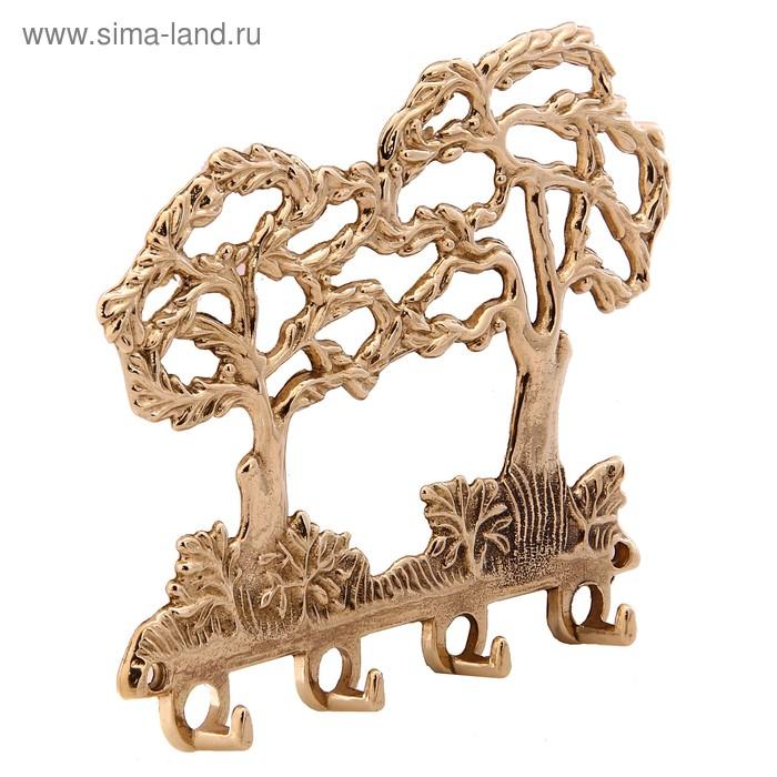 "Крючок ""Деревья"", 4 в 1"
