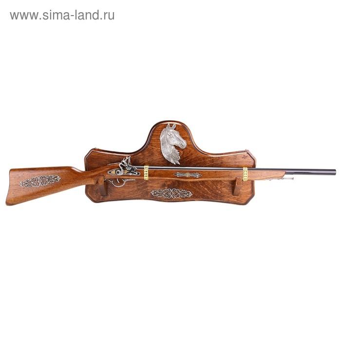 """Макет винтовки на панели """"Лошадь"""""""