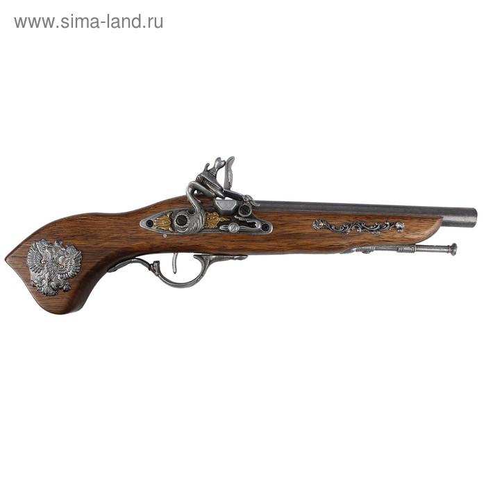 Макет пистоля с российским гербом