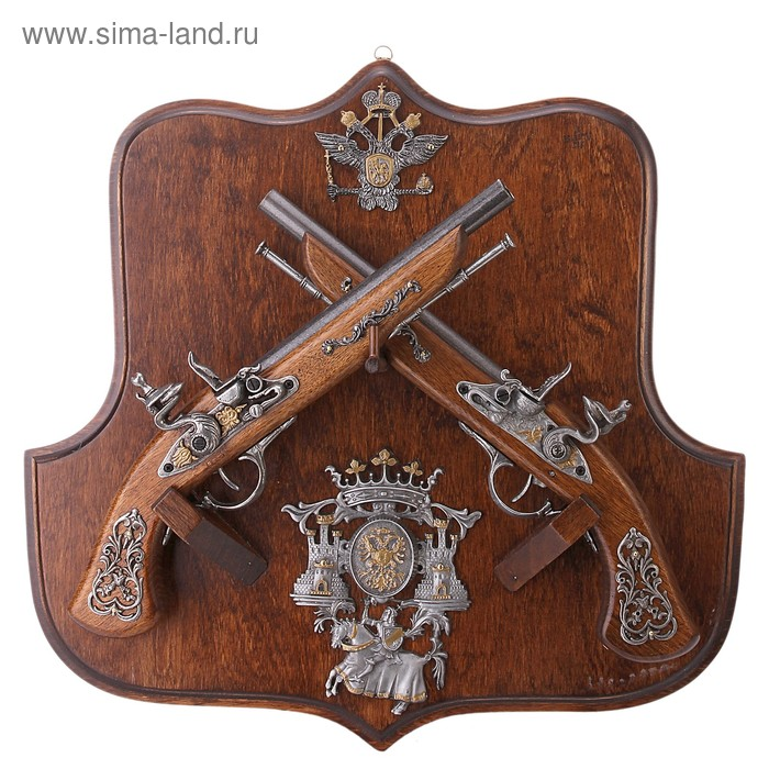 Макет 2-х пистолей на панели Russian Kingdom
