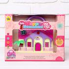 """House for dolls """"Uyut"""" with accessories, MIX"""