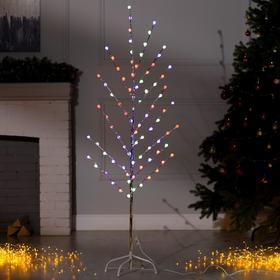 Светодиодный куст уличный 1,5 м, 'Шарики', 32 LED 'Шарики', 220V, моргает МУЛЬТИ Ош