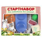 стартнабор для котенка (миска, лоток, совок, игрушка, пуходерка) 40*30*6,5 см