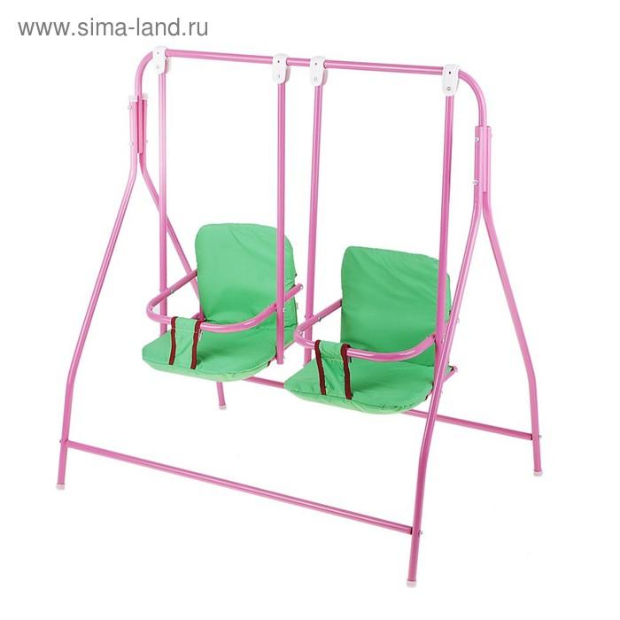 Качели для кукол 5, размер сиденья 20 х 15 х 15 см, цвета МИКС