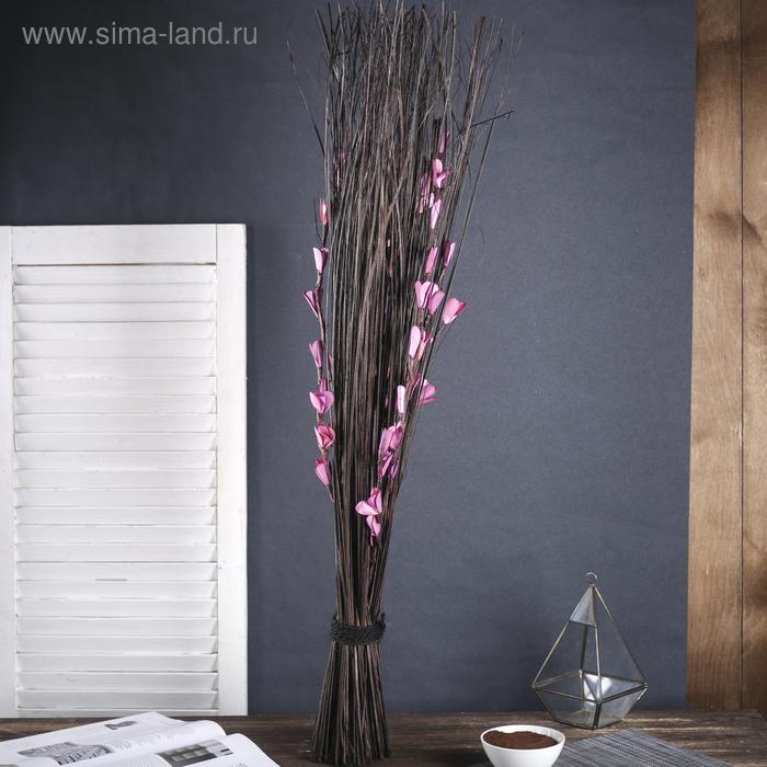"""Сухоцветы """"Порхание"""", фиолетовая"""