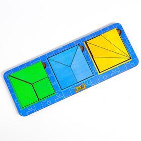 Сложи квадрат Б.П. Никитин, 3 квадрата 2-й уровень