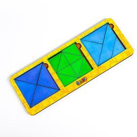 Сложи квадрат Б.П. Никитин, 3 квадрата 3-й уровень