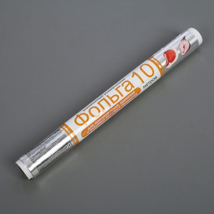 Фольга GRIFON алюминиевая пищевая, универсальная, 29 см х 10 м, 12 мкм, в пленке