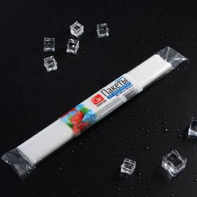 Пакеты для заморозки, 6 л, 30 × 40 см, 18 мкм, рулон - 20 шт