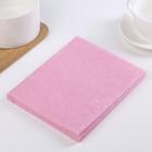 Набор салфеток вискоза 30×38 см, 3 шт, цвет МИКС