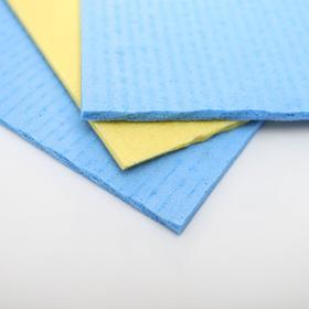 Набор губчатых салфеток для кухни 15×15 см, 3 шт, цвет МИКС - фото 4643868