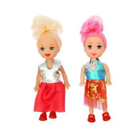 "A set of dolls-babies ""Beauty"", 2 pieces, MIX"