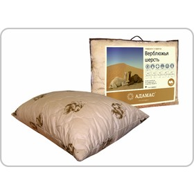 """Подушка Адамас """"Верблюжья шерсть"""", размер 50х70 см, чехол полиэстер"""