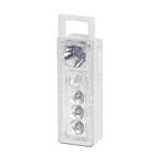 """Фонарь переносной """"Приёмник"""", 2 типа освещения, 5 LED, белый, 3 ААА, 10 см"""