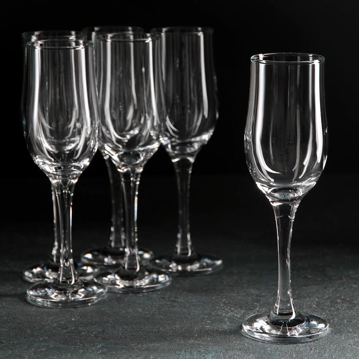 Набор бокалов для шампанского 190 мл Tulipe, 6 шт