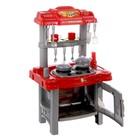 Игровой модуль «Кухня хозяйки» с аксессуарами, световые и звуковые эффекты, высота 69 см, МИКС - фото 999084