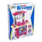 Игровой набор «Кухня мечты» с посудой и продуктами, световые и звуковые эффекты, работает от батареек - фото 999090