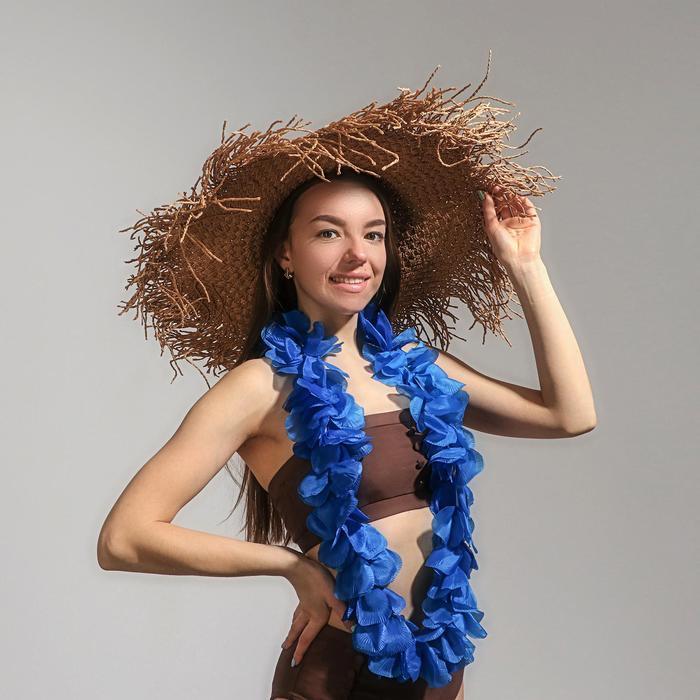 Гавайское ожерелье «Лепестки», цвета МИКС
