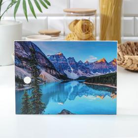 Доска разделочная «Горы», 18,5×25 см
