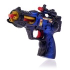 Blaster, a Ranger with the rotating body, light and sound effects, battery powered MIX color