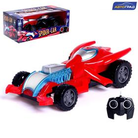 AVTOGRAD radio-controlled Spider-Car, battery-operated, no. SL-04686, MIX