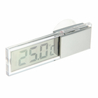 The electronic thermometer suction Cup transparent battery-operated, plastic