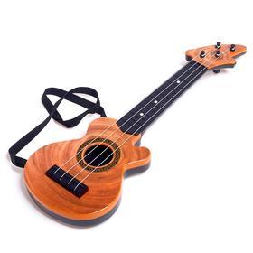 Игрушка музыкальная гитара «Мелодия», МИКС