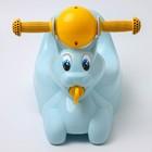 Горшок-игрушка «Зайчик», цвет пастельно-голубой - фото 105451170