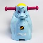 Горшок-игрушка «Уточка», цвет пастельно-голубой - фото 105451175