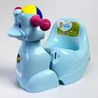 Горшок-игрушка «Уточка», цвет пастельно-голубой - фото 105451174