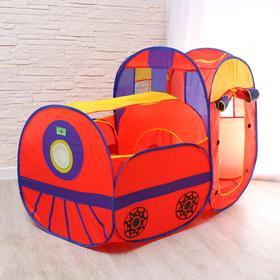 Детская игровая палатка «Паровоз» 132×66×88 см