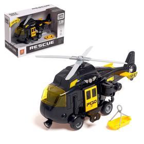 """Вертолет инерционный """"Полиция"""", свет и звук, 1:20"""
