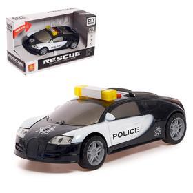 """Машина инерционная """"Полиция"""", свет и звук, 1:28"""