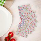 Салфетки бумажные (набор 20 шт) 33*33 см Красочная поллянка